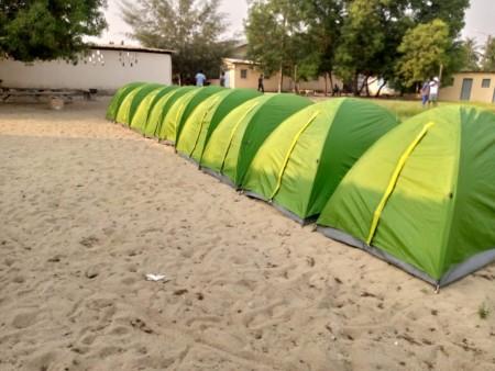 Tente de camping 2 plaxes