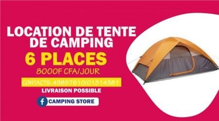 Location de tente de camping