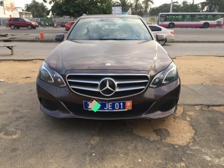 Mercedes E350 4matic 2014