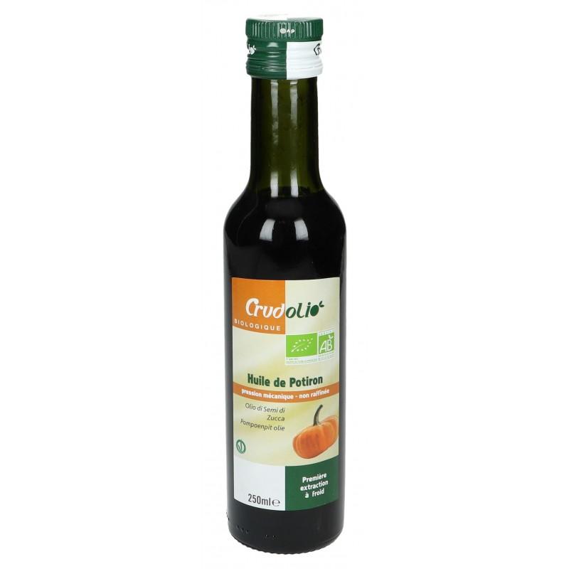Crudolio huile de potiron